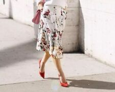 Zara Calf Length Formal Floral Skirts for Women