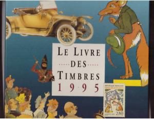 FR LIVRE DES TIMBRES 1995 ANNEE COMPLETE + BF 18 DANS EMBALLAGE ORIGINE **