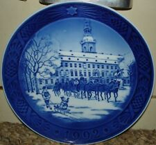 Royal Copenhagen 1992 The Royal Coach Plate - 7 1/8""