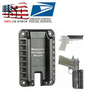 Gun Holder Gun Magnet Mount, Quick Draw Loaded Magnetic Gun Holster Concealed