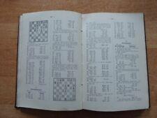 XVII. Kongreß des Deutschen Schachbundes Hamburg 1910 gebundene Originalausgabe