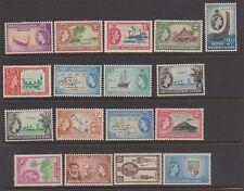 SOLOMON ISLANDS 89-105 Queen Elizabeth mint complete