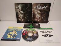 FALLOUT 4 Steelbook V2 + Jeu Xbox ONE- PAL fr - Très bon état