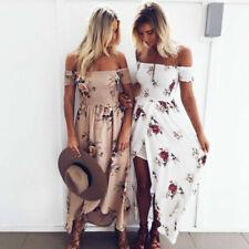 Robes blancs à motif Floral pour femme