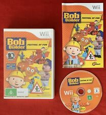 Bob The Builder Festival Of Fun Game for Nintendo Wii / Wii U PAL complete