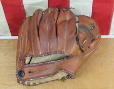 Vintage 50s Draper Maynard D&M Leather Baseball Glove Mitt HOF Red Schoendienst