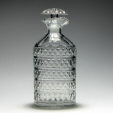Decanter Clear Georgian Date-Lined Glass