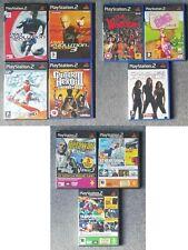 Ps2 Playstation 2 Spielepaket x 7 + Demos Discs x 3 (Sport, Action)