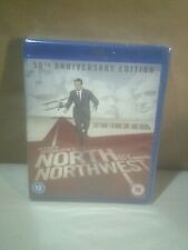 North By Northwest - Cary Grant - Hitchcock - UK Blu-ray - New/Sealed