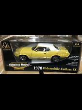 1970 Cutlass SX Sebring Yellow Oldsmobile 1:18 Ertl American Muscle 33770