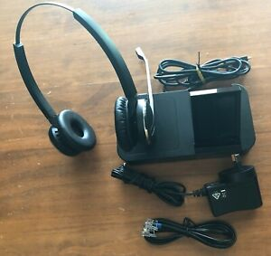 Jabra Pro 9460 DECT Wireless Duo Headset Desk - Used in Good Condition