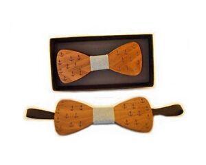 BowTie Wooden Wedding Necktie Fashion Father's day Gift Novelty elegant style