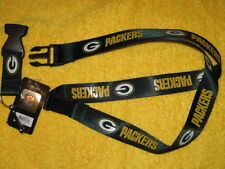 NFL Green Bay Packers Green Breakaway Lanyard Key chain