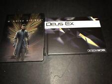 PS4 Deus Ex: Mankind Divided Steelbook & Art Book & DLC PlayStation 4 New
