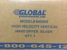 New High Velocity Vertical Hand Dryer, Touch Free, 750W, 110-120V