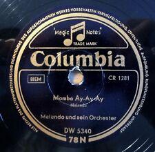 """Malando - Mambo Ay.... - Reich und glücklich - Columbia - /10"""" 78 RPM"""