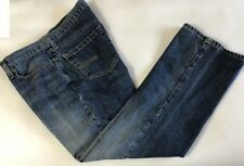 H2O Women's Jeans Size 12 (Approx) Blue Slim Boot Denim @