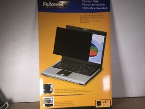 Fellowes PrivaScreen Privacy Filter for 24.0 Inch Widescreen Monitors - #E08