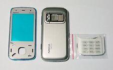 Silver Fascia cover skin housing faceplate facia case for Nokia N86    -00001