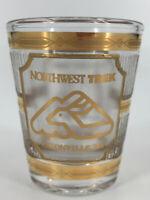 Eatonville Vintage Culver 22K Gold Northwest Trek Shot Glass Shooter