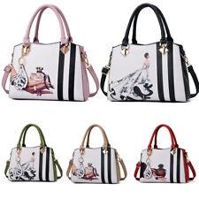 Women Leather Handbags Shoulder Lady Cross Body Bag Tote Messenger Satchel Purse