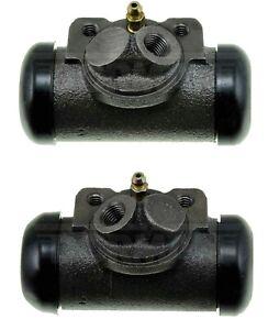 2 Drum Brake Wheel Cylinders Front Left & Right for JEEP CJ5 CJ6 CJ6A DJ5
