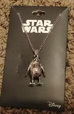 New Disney Star Wars Porg Charm Pendant Necklace Officially Licensed Bioworld