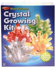 GROW 4 CRYSTALS EXPERIMENT WITH CRYSTALS - WORLD OF SCIENCE CRYSTAL GROWING KIT