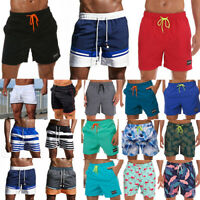 Men Swimming Board Shorts Swim Shorts Trunks Swimwear Sports Running Short Pant