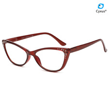 Cyxus Anti Blue Light Blocking Reading Glasses Cat Eye Eyewear 1.5 2.0 2.5 3.0