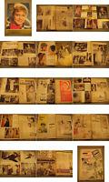 Film und Frau Zeitschrift von 1961-3.Zeitgeist,Mode Werbung.Burt Lancaster