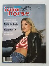 Iron Horse Magazine September 1982 #24 With Centerfold & Iron-On - Tank Art