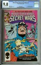 MARVEL SUPER HEROES SECRET WARS #7 CGC 9.8 OW/WH PAGES ID: 21572