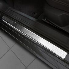 CHEVROLET SPARK II 2010-2015 Car Door Sill Protector - steel + polyurethane [ 4
