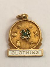 Vintage 4-H Club Clothing Award Pin Presented by Coats & Clark for Excellence