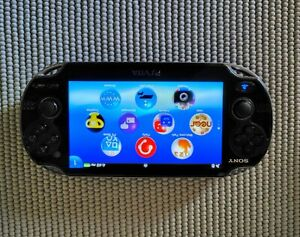 Sony PlayStation Vita 32GB Crystal Black Console