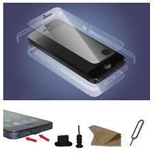 iPhone 5/5S Fullbody Schutzfolie Vorderseite + Rückseite Display Schutz Folien