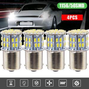 4 x 1156 LED Bulb Car Turn Back Up Reverse Brake Signal Tail Light Accessory Kit