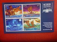 New Zealand  NZ2020 STAMP EXHIBITION KUPE SPECIAL MNI SHEET MUH