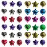 "HELIUM FOIL BALLOONS BIRTHDAY WEDDING PARTY 20"" STAR 18"" HEART OR 18"" ROUND"
