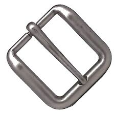 "Wave Solid Antique Nickel Buckle 1-1/2"" 1641-21 by Stecksstore"