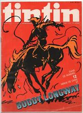 TINTIN  25  COMIC MAGAZINE  C. 1973  FRENCH  BELGIUM