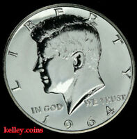 1964 Kennedy Silver Half Dollar ~ GEM PROOF