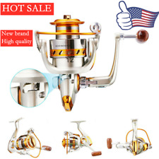 New Listing12Bb Metal Heavy Duty Fishing Spinning Reel Saltwater Freshwater Arm Left Right