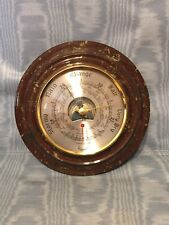 New listing Vintage Rare Lizard Point Stone Barometer/Thermometer Britain
