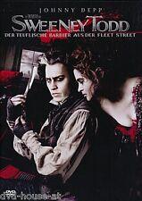 DVD * SWEENEY TODD NEU & OVP Johnny Depp Teuflische Barbier aus der Fleet Street