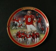 STEVE YOUNG 1997 Bradford Exchange Limited Plate The Game's Greatest W/COA