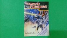 """The Transformers: G1: """"The battle is far from over!"""" Order Form"""
