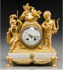 A French Second Empire Gilt Bronze Clock Retailed By Tiffany & Co.,. Lot 65592