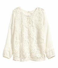 H&M Crew Neck Casual Blouses for Women
